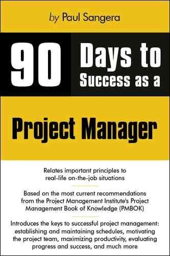 90 Days to Success As a Project Managerdays
