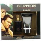 STETSON BLACK by Coty COLOGNE SPRAY 1.5 OZ & AFTERSHAVE BALM 4 OZstetson