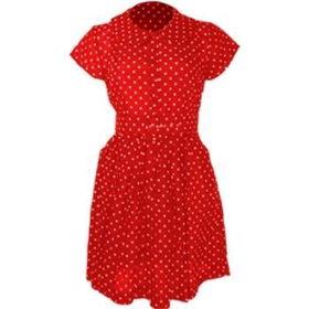 Polka  Dress on Red Forever 21 Womens Juniors Red Polka Dot Dress Case Pack 18