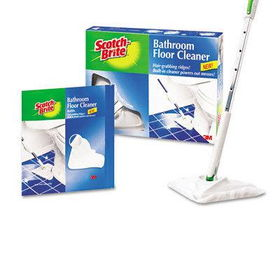 3m 8003sk4 Scotch Brite Bathroom Floor Cleaner Starter Kit Refillscotch