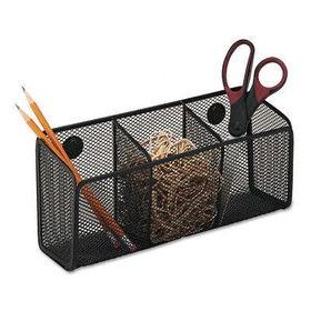 Superbe RolodexTM 62621   Mesh Organizer, Wire, Magnetic Wall Storage Bin, 12w X 4d