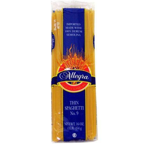 Allegra Thin Spaghetti Pasta Case Pack 20 Just 32 95