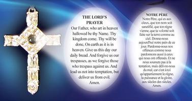 Lord S Prayer Cross Pendant Just 17 95
