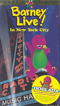 Barney Live At Radio City Music Hall 9 28