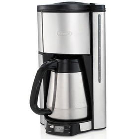Delonghi Coffee Maker Stainless Steel Carafe : DeLonghi 10-Cup Stainless Steel Drip Coffee Maker with Double-Walled Carafe Just USD 104.34