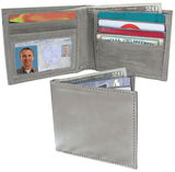 Stainless Steel Bill Fold Wallet