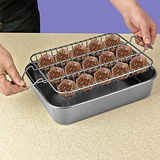 Perfect Bake & Serve Meatball Pan Set