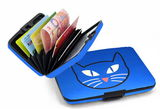 Aluminum Wallet - Cat