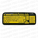 Deluxe - Big & Bright EZ See Keyboard