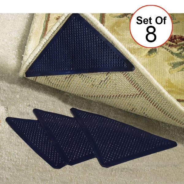 Reusable Corner Area Carpet Rug Grippers
