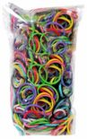 Loom 600Ct Rubber Band Refill - Multi Color + 25 S-Clips