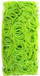 Loom 600Ct Rubber Band Refill - Neon Green + 25 S-Clips