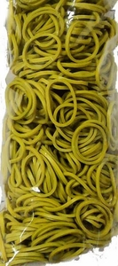 Loom 600Ct Rubber Band Refill - Olive Green + 25 S-Clips