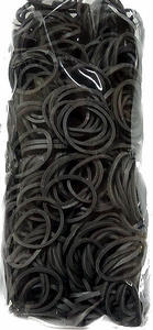 Loom 600Ct Rubber Band Refill - Gray + 25 S-Clips
