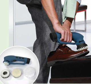 Electric Shoe Polisher - Deluxe Kit