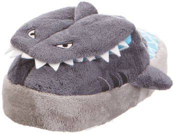 Stomp n Pop Up Slippers - Shark