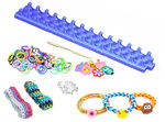 1 - Loom Rubber Band Bracelet Knitting Kit - Deluxe Kit
