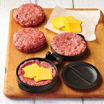 Stuffed Hamburger Press with Lifter