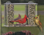 Songbird Mirrored Window Feeder