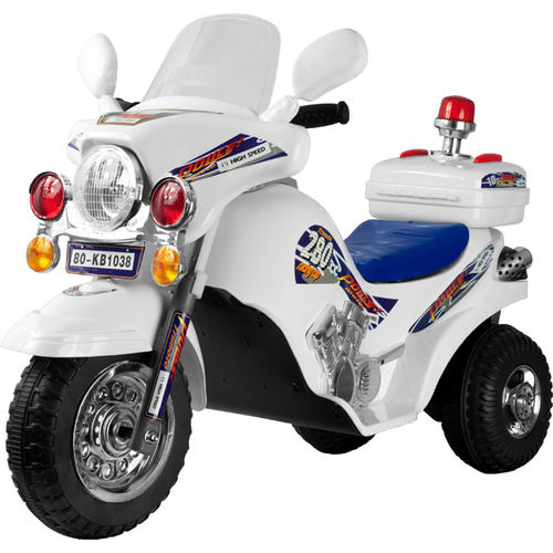 Lil' Rider? White Lightning Police Cruiser Battery Operated