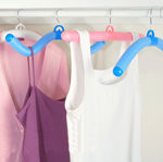 Bendable Flexible Anti-skid Foam Clothes Hangers - 5pc Set