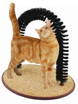 Perfect Cat Self Scratching And Grooming Arch
