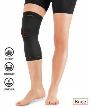 Copper Infused Compression Sleeve - Knee