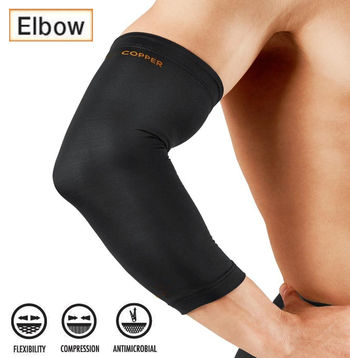 Copper Infused Compression Sleeve - Elbow