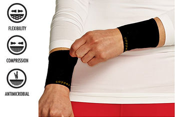 Copper Infused Compression Sleeve - Wrist