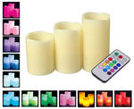LED Mood Candles with Remote