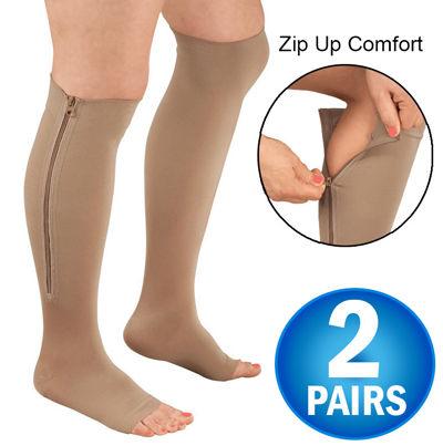 cheap for discount 4fb53 d1965 Zipper Compression Socks - 2