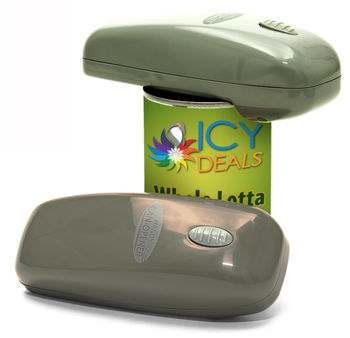 Handy Can Opener Deluxe - Grey