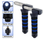 2pc Car Automotive Standing Aid Cane With USB Rechargeable Light