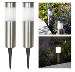 Solar Post Garden-Pathway LED Lights - Set of 2