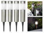 Solar Post Garden-Pathway LED Lights - Set of 4