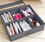 Underbed Shoe Storage Chest- Zippered Top