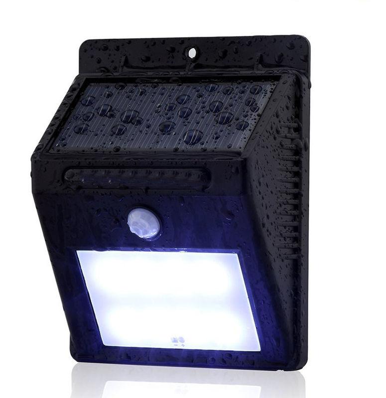 8 LED Outdoor Solar Powered Wireless Waterproof