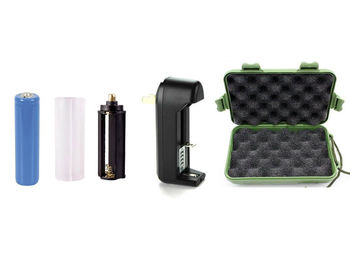 G-Series Lithium Ion Battery, Battery Adapter, Charger & Case