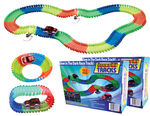 2 - Magic Twister Glow In the Dark Light Up Race Tracks - Deluxe Set