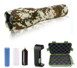 2 - G1000 Portable Zoomable Tactical LED Flashlight - 2000 Lumens - Light Brown Camo