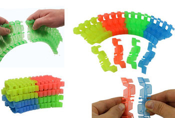 Magic Twister Glow Tracks - Extra 96pc Track Set