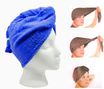 2pc - Turbo Twist Microfiber Hair Towel - Super Absorbent Hair Towel