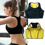Hot Thermal Sports Bra - Slimming Shaping Sweat Neoprene Bra