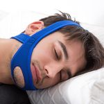 Snore Relief Adjustable Chin Strap - Open Chin Neoprene Stop Snoring Chin Strap