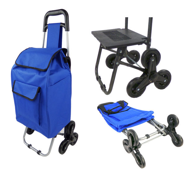 Dolly Climbing Stair Trolley Cart Foldable Storage