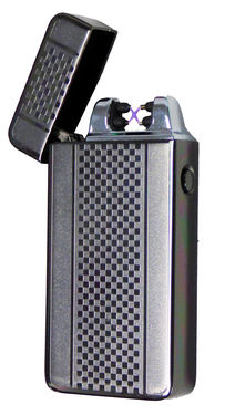 Tactical Dual Arch Beam Lighter - As Seen On TV USB Electric Atomic Plasma Torch Tac Lighter /w Gift Box