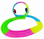 Light Up Glow In The Dark Twisting  360 LOOP Track - Complete Set