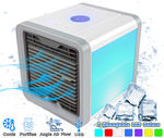 New Pro Polar Personal Space Evaporative Air Conditioner Cooler,  Purifier, Humidifier & Fan (4-1) - For Bedroom, Desktop & Office - Movable Vents