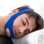 Snore Relief CPAP Friendly Chin Strap - Open Chin Neoprene Stop Snoring Chin Strap