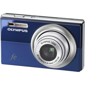 "Navy Blue 12MP Digital Camera with 5x Optical Zoom, 2.7"" LCD and Smile Shotnavy"